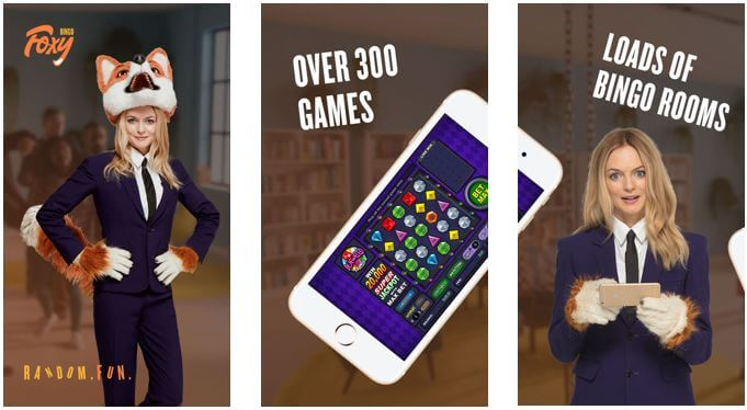 Foxy Bingo mobile app
