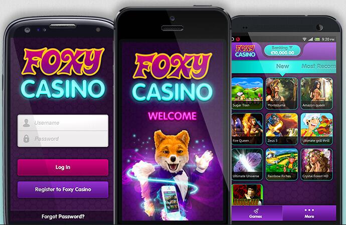 Mobile App foxy