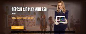 Foxy Bingo Mobile Bonus