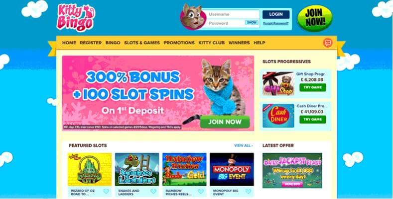 Kitty Bingo Promo Code 2018