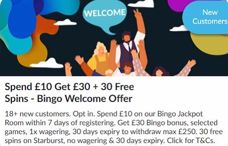 BetVictor Bingo Bonus
